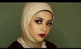 Vampy Glam Fall Makeup Look Ft. Makeup Geek Eyeshadows
