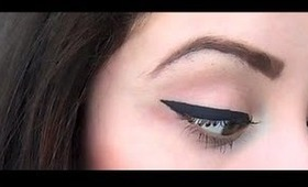 Perfect Winged Eyeliner Tutorial in HD Easy & Quick! STEP BY STEP MARILYN MONROE INSPIRED