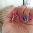 my ring finger nail :)