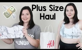 Plus Size Try On Haul: NEW Forever 21 Athletic Wear, Target, H&M, Kitson | OliviaMakeupChannel