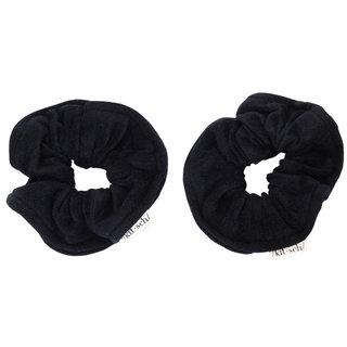 Eco-Friendly Towel Scrunchies Black