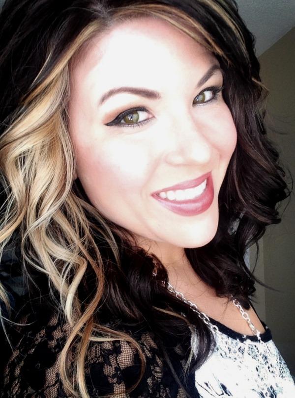 Dark Brown Hair With Blonde Chunk Katie S S Photo