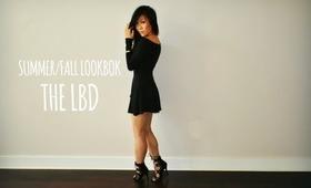 FALL LOOKBOOK | THE LBD -THE LITTLE BLACK DRESS - XPPINKX