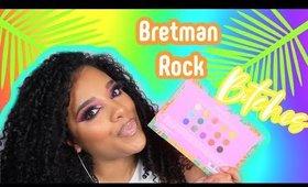 BRETMAN ROCK x  WetNWild Review | Colourful Look | leiydbeauty