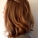 Braid with loose curls