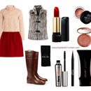 Fall Outfit/Makeup 4