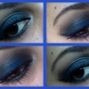Vice blue smokey