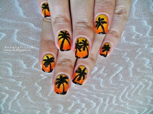 Details and a tutorial here: http://roxy-ch.blogspot.ro/2013/09/tropical-sunset.html