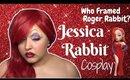 Jessica Rabbit Cosplay Makeup Tutorial (NoBlandMakeup)