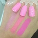 MAC saint germain nail polish with MAC pink color