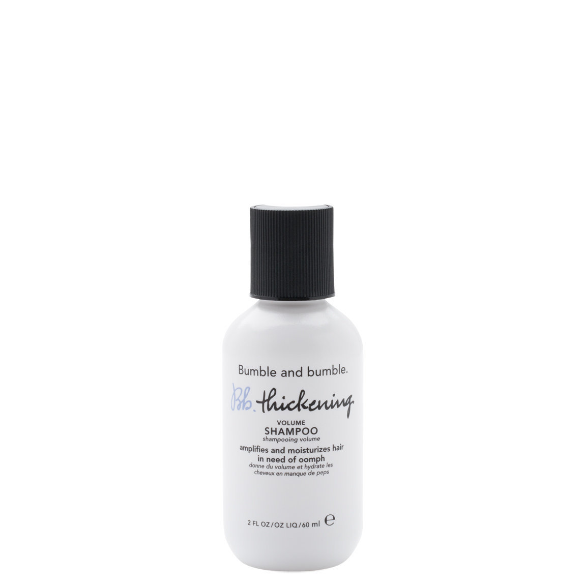 Bumble and bumble. Bb.Thickening Volume Shampoo 2 oz product smear.