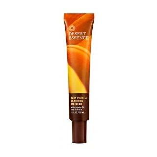Desert Essence Daily Essential De-Puffing Eye Cream