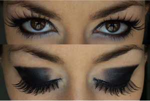 ..Falsies: from drugstore (Fries Partychic)
