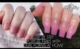 DIY POLYGEL NAILS AT HOME | The Beauty Vault