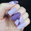 The Digit-al Dozen Does Texture: Purple Pinwheels