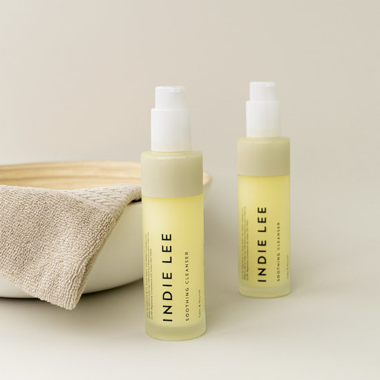 Alternate product image for Soothing Cleanser shown with the description.