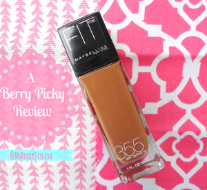 Hi guys! One of my favorite drugstore brands is Maybelline because of all the great products they come out with, but today I wanted to talk about...  Check out the full review here:  http://msberrystylish.blogspot.com/2013/06/berry-picky-maybelline-fit-me-foundation.html