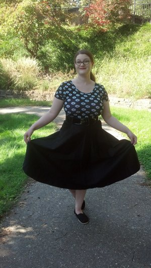 Yay! I have two more skirts from Pin-up Girl clothing that I'll eventually flaunt lol
