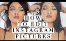 How I Edit Instagram Pictures | iPhone