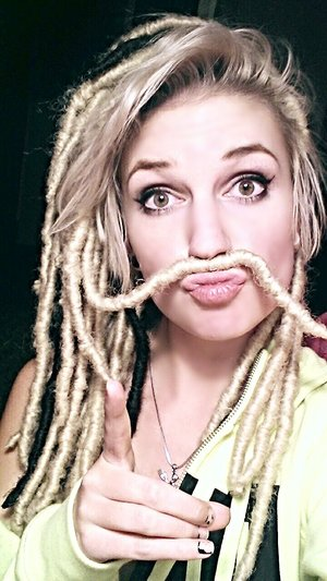 The world would be a better place if everyone just grew mustaches like this ;)