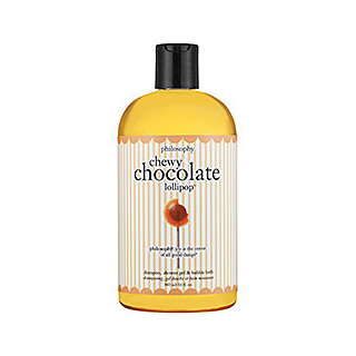 Philosophy Chewy Chocolate Lollipop Shampoo, Shower Gel & Bubble Bath