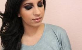 Makeup Tutorial: Lorac Pro Plum Smokey Eyes