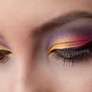 Colorful Eyes Closeup