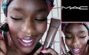 Foundation Review /Application: Mac Studio Sculpt Ⓝⓦ47  Baby Doll Makeup