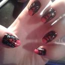 goth corsett nails