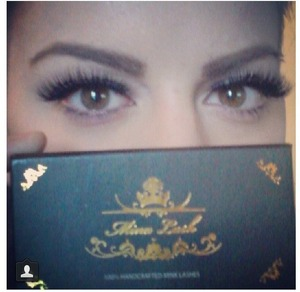Beautiful Cleopatra mink lashes follow us in Instagram @minxlash