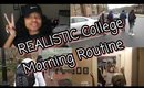 REALISTIC College Morning Routine (2018)