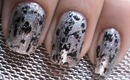 Grunge Acid Metal Nails - Sexy Nail Polish Designs - Long Nail/Short Nail Art Crackle Polish