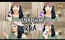 Getting Over A Break Up & Moving to LA | SNAPCHAT Q&A