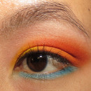 Sailor Venus Inspired EOTD