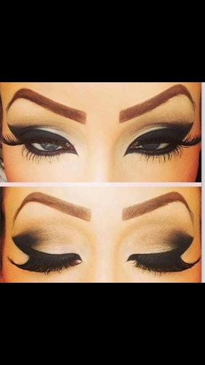 Love the thick eyeliner
