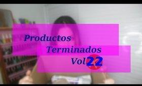Productos terminados Vol. 22 (Special Makeup)