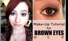 Tutorial For Brown Eyes