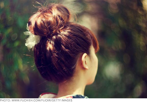 Outstanding How To Make A Big Hair Bun 3 Simple Methods Beautylish Schematic Wiring Diagrams Amerangerunnerswayorg