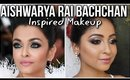 AISHWARYA RAI BACHCHAN Inspired Makeup Look Cannes 2019 | Silver Smokey Eyes | Stacey Castanha