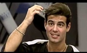 Historic Footage of  Andy Cohen Makeover by Cristophe on CBS Morning Show