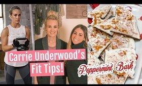 Carrie Underwood's FIT GIRL HACKS// Peppermint Bark