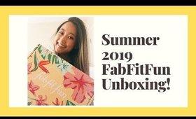 Summer 2019 FabFitFun⎮Unboxing & First Impressions!