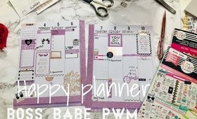 HAPPY PLANNER BOSS BABE PWM | SOUTHERNTEETIME COLLAB