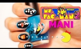 HOW TO: Video Game Nails Feat Ms Pac Man
