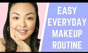 *EASY* Everyday Makeup Routine For Beginners   chiutips