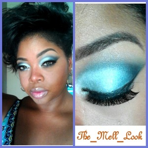wet n wild blue palette@the_mell_look
