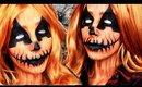 Pumpkin Queen Halloween Makeup Tutorial