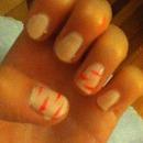 pink tiger stripes