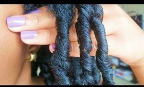 Finger Coil Tutorial for Medium to Long Natural Hair
