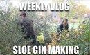 Sloe Gin Making | Lily Pebbles Weekly Vlog